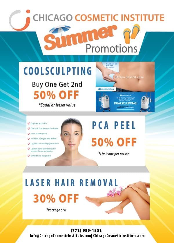 Chicago Cosmetic July Promotion
